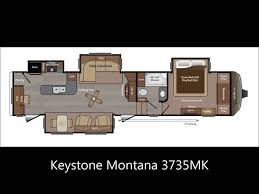 montana rv floor plans keystone montana youtube