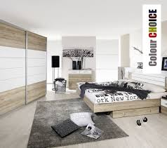 white wood bedroom furniture idea with upholstered and chest of