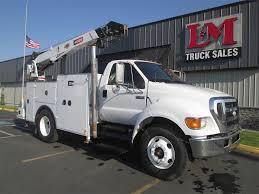 100 Ford Service Trucks 2007 F750 XLT Single Axle Mechanic Truck