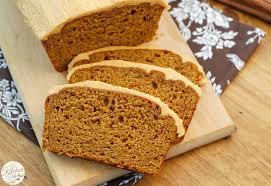 Libbys Pumpkin Bread Recipe by Salted Caramel Pumpkin Buttercream Frosted Pumpkin Bread A