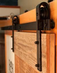 Teardrop Privacy Lock Sliding Barn Door Hardware