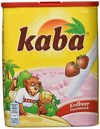 kaba erdbeer lösliches getränkepulver mit erdbeer geschmack 10er pack 10 x 400 g