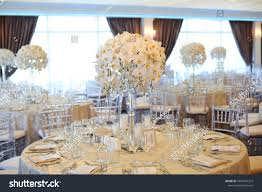 Indoor Round Reception Table Flowers Chairs Stock Photo (Edit Now ... Regal Fniture How To Plan Your Wedding Reception Layout Brides Syang Philippines Price List For Usd 250 Simple Negoation Table And Chair Combination Office Chair Conference Table And Chairs Admirable Round Ikea Business Event Seating Arrangements Whats The Best Your Event Seating Setting Events Budapest Party Service Tables Chairs Negotiate A Square Four Indoor Flowers Stock Photo Edit Now