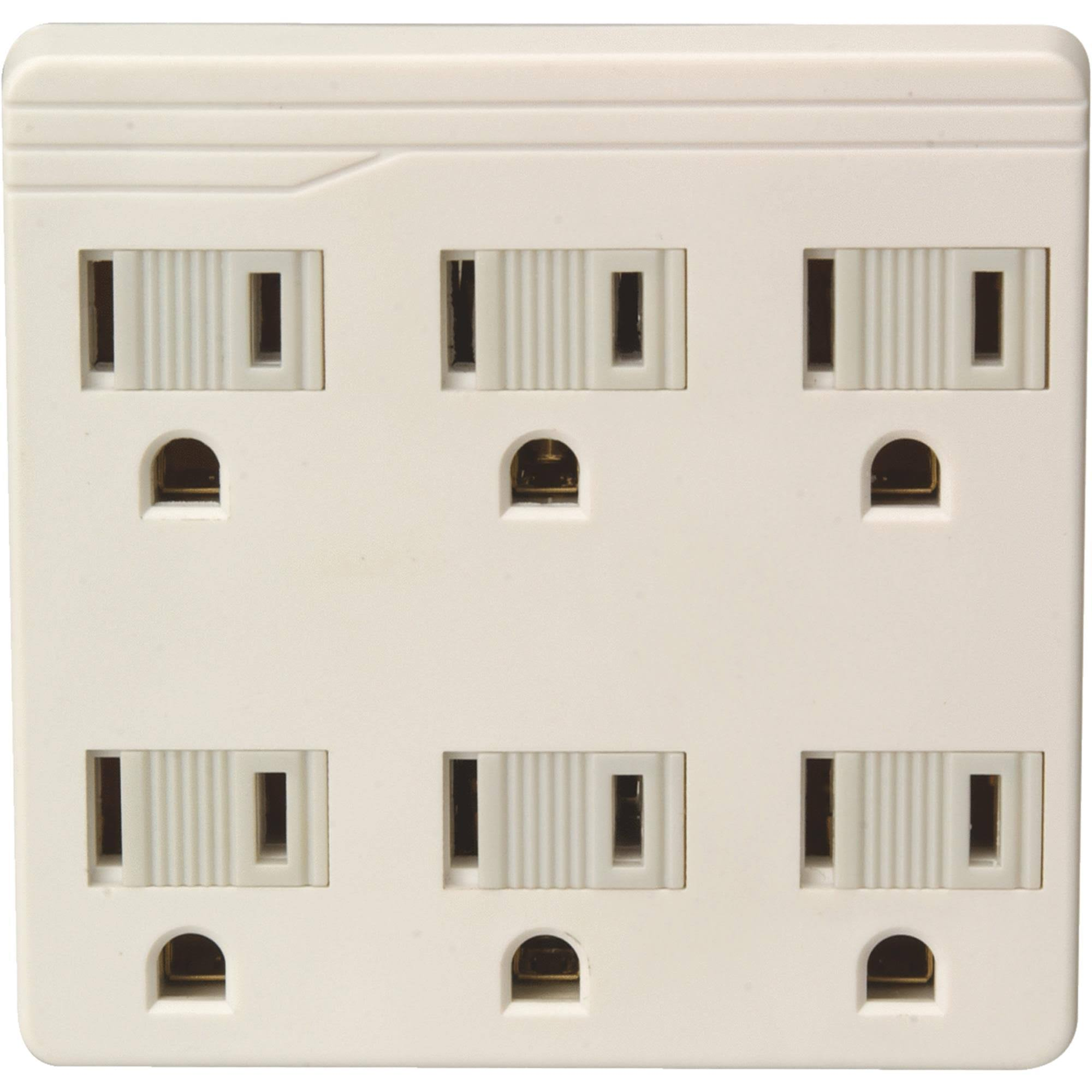 Do It 6-Outlet Tap LA-33-IV
