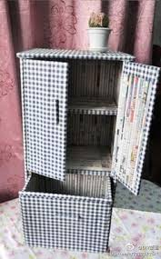 News Paper Rolls Cabinet