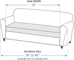 3 Seat Sofa Cover by Sure Fit Stretch Piqué 3 Seat Individual Cushion Sofa Covers
