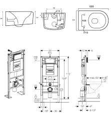 installation wc suspendu grohe de design unique