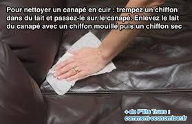 enlever odeur canapé cuir l astuce pour nettoyer facilement un canapé en cuir canapés en