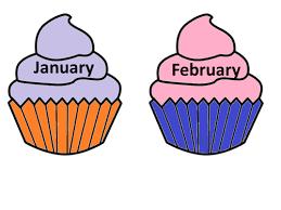 Cupcake clipart january 11