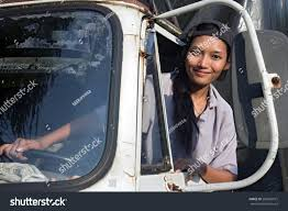100 Female Truck Driver Woman Looking Out Stock Photo Edit Now