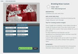 Breaking News Video Background For PowerPoint