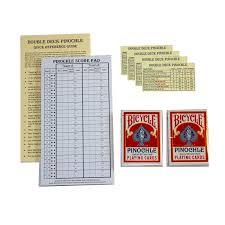 deck pinochle 4 player pinochle score pad gift set 40 page score pad