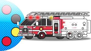 100 How To Draw A Fire Truck For Kids Coloring Pages Coloring Page