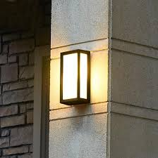 Alluring Exterior Wall Sconce Light Fixtures Outdoor Wall Light
