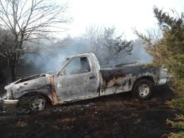 Trucks Consumed In Kansas Grass Fire