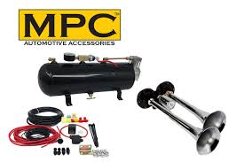 Air Horn Kit For Trucks; Two-Trumpet W/110 PSI 12-Volt Compressor ... Wolo Bad Boy Compact Air Horn Model 419 Northern Tool Equipment Twin 29 Big Rig Roof Mounted Truck Kit With150 Psi Features Black Train Dual Trumpet 12v Car 12v 150db Loud Horns Hk2 Kleinn Very 25l Tank Complete Stebel Musical The Godfather Tune 12 Volt Lumiparty Universal 178db Super With Mirkoo 150db 173 Inches Single 150db Loud Single Mega W Dc Quad 4 170 Philippines 4trumpet 110psi