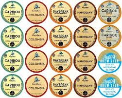 Buy 20 Count CARIBOU COFFEE K Cup Variety Sampler Pack Single Serve Cups For Keurig Brewers In Cheap Price On Malibaba
