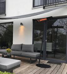 vitramo infrarot heizstrahler für die terrasse haustec