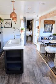 100 Modern Design Travel Trailers Tour This Plantfilled Trailer Renovated With Southwestern