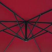 Patio Umbrellas Walmart Usa by Best Choice Products Patio Umbrella Offset 10 U0027 Hanging Umbrella