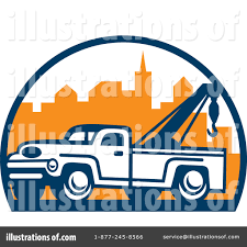100 Tow Truck Clipart 1235343 Illustration By Patrimonio