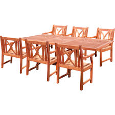 7 Piece Patio Dining Set Target by Meadow Decor Kingston 7 Piece Round Patio Dining Set Pacifica 7