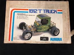 100 Plastic Truck Model Kits Aurora 1912 T Truck Unnassmbled 132 Scale Plastic Model Kit In Box
