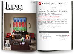 100 Interiors Online Magazine Luxe At 601 Brannan Academy Of Art University Interior