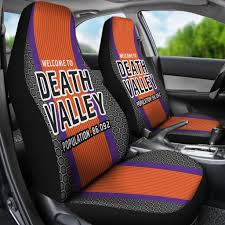 Clemson Tigers/Death Valley/Clemson Football/Auto Seat Covers/SUV ...