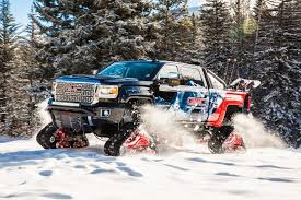 100 Truck Tracks GMC Unveils Sierra 2500HD All Mountain A Denali With Tracks