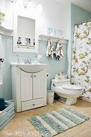 Gray And Aqua Bathroom by Power Of Pinterest Link Party And Friday Fav Features