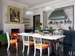 Kitchen Fireplace Home Design Ideas Photos