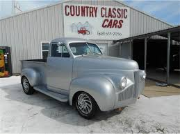 100 1947 Studebaker Truck Pickup For Sale ClassicCarscom CC1007851
