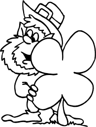 Leprechaun Coloring Pages Free 10 3944 Best Images About For Kids On Pinterest