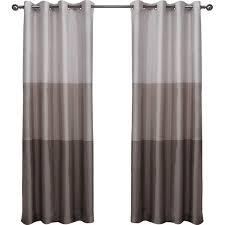 latitude run newton striped semi sheer grommet curtain panels