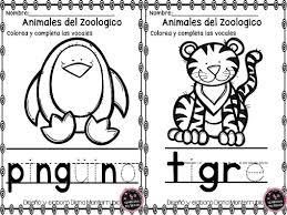 10 Dibujos De Animales Para Colorear Del Zoologico Dibujo