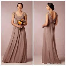 Cap Sleeve Bridesmaid Dresses Floor Length by Blush Pink Bridesmaid Dress Chiffon Long Lace Cap Sleeve Guest