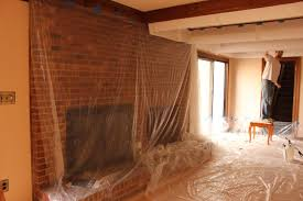Scraping Popcorn Ceilings Without Water by The Handcrafted Life How To Remove Popcorn Ceilings