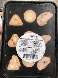 petits canapes petits canapés de saumon fumé just taste 85 g