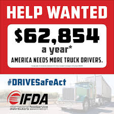 100 Trucking Salary IFDA On Twitter The US Is Experiencing A Massive Drivershortage
