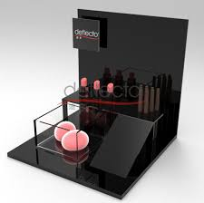 Product Name Deflecto Wholesale Acrylic Cosmetic Display Stand