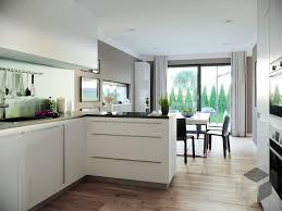 moderne küche weiß küche mit theke haus küchen wohnung küche