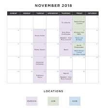FoodTrucks-Calendar-Nov-01 - Carolina Dining Services