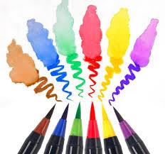 20 Color Set Writing Brush Soft Pen Water Art Marker Effect Best For Adult