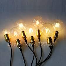 retro vintage led edison bulb e27 filament light bulb warm white