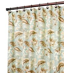 Jacobean Floral Curtain Fabric by Charlton Home Fulton Jacobean Floral Print Shower Curtain