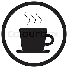 Coffee clipart icon black 10