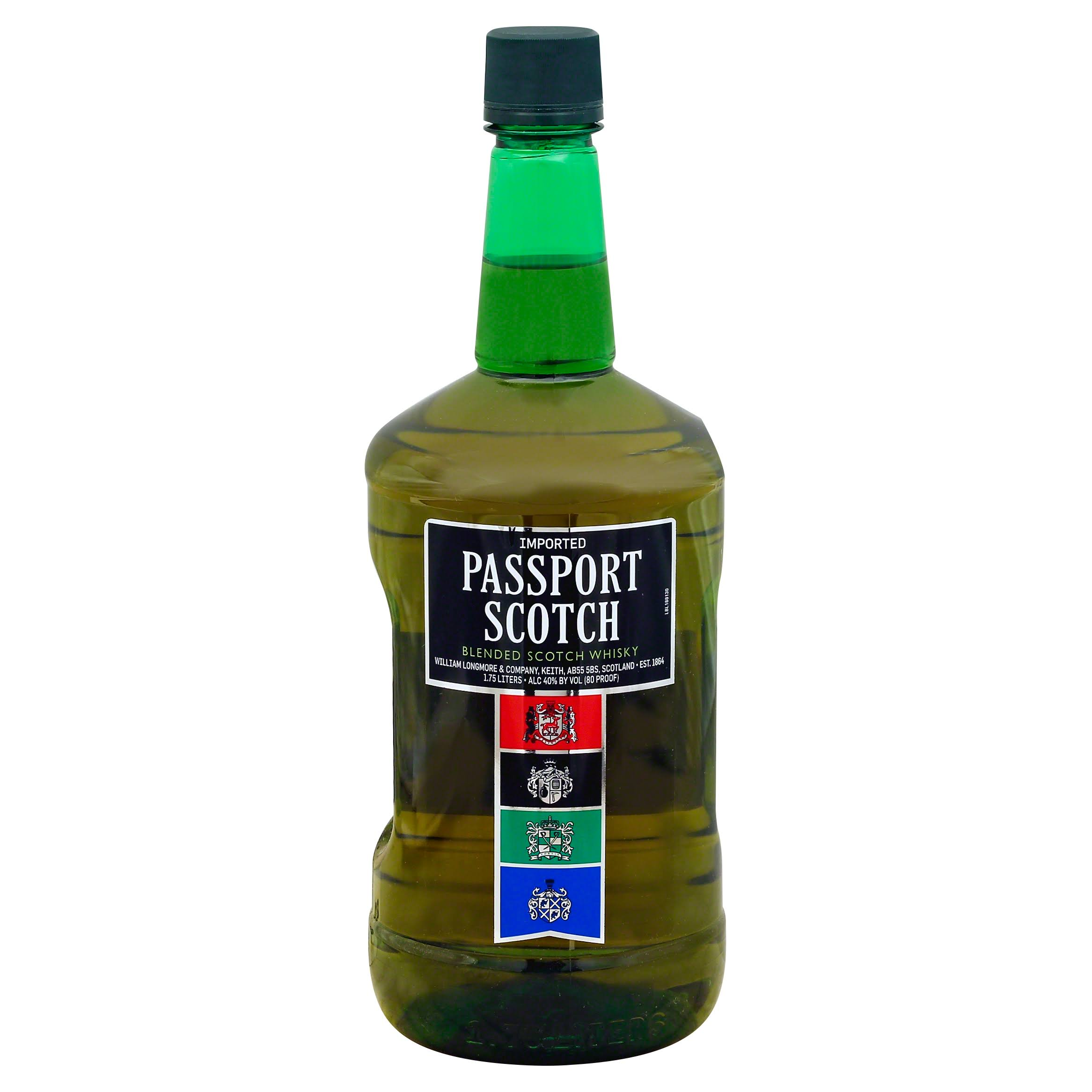 Passport Scotch Blended Scotch Whisky - 1.75l