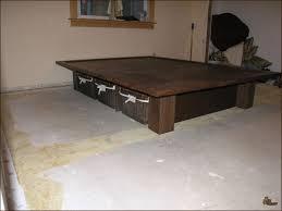 Platform Bed Frame by Useful King Size Platform Bed Frame With Inspirations How To Make