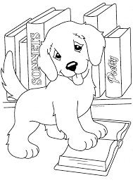 Lisa Frank Coloring Pages Casey Camus Candy Yellow Lab Golden Retriever Books